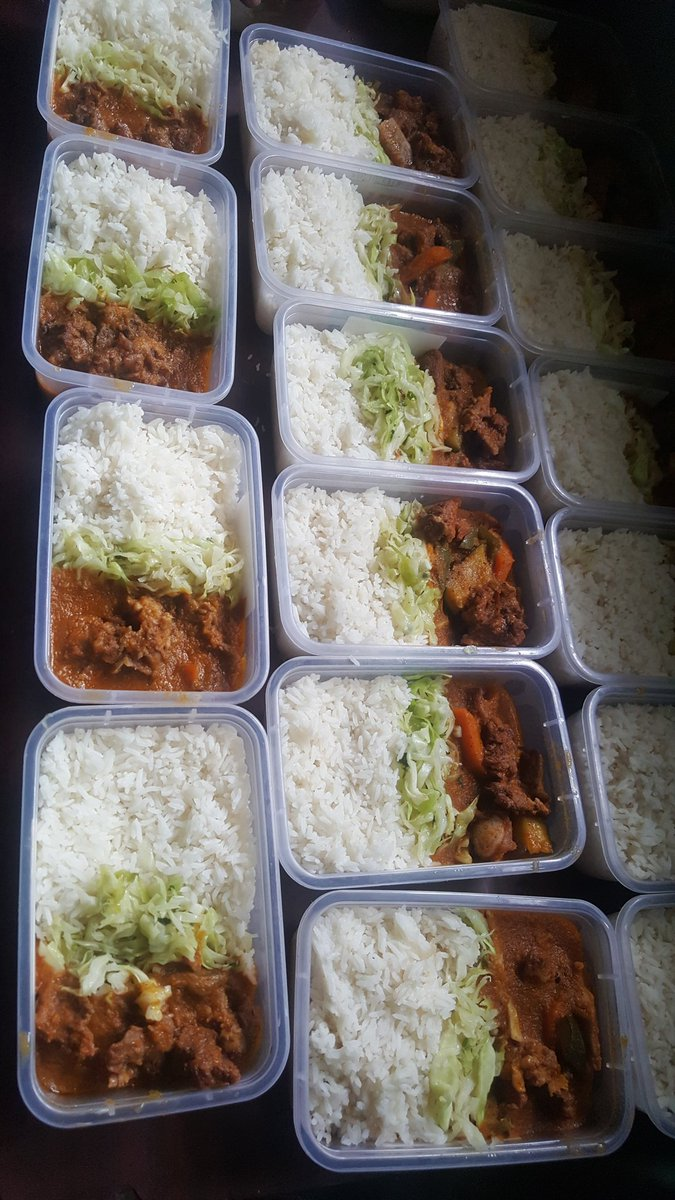 Good morning. Our team is ready to deliver pack lunch to the office free. Today menu we have rice served with beef stew and veggies Call us 0724079339 #Godfavour #IkoKaziKe  Linus kaikai Pastor ng Muthaiga<br>http://pic.twitter.com/UmcJ03H3uU