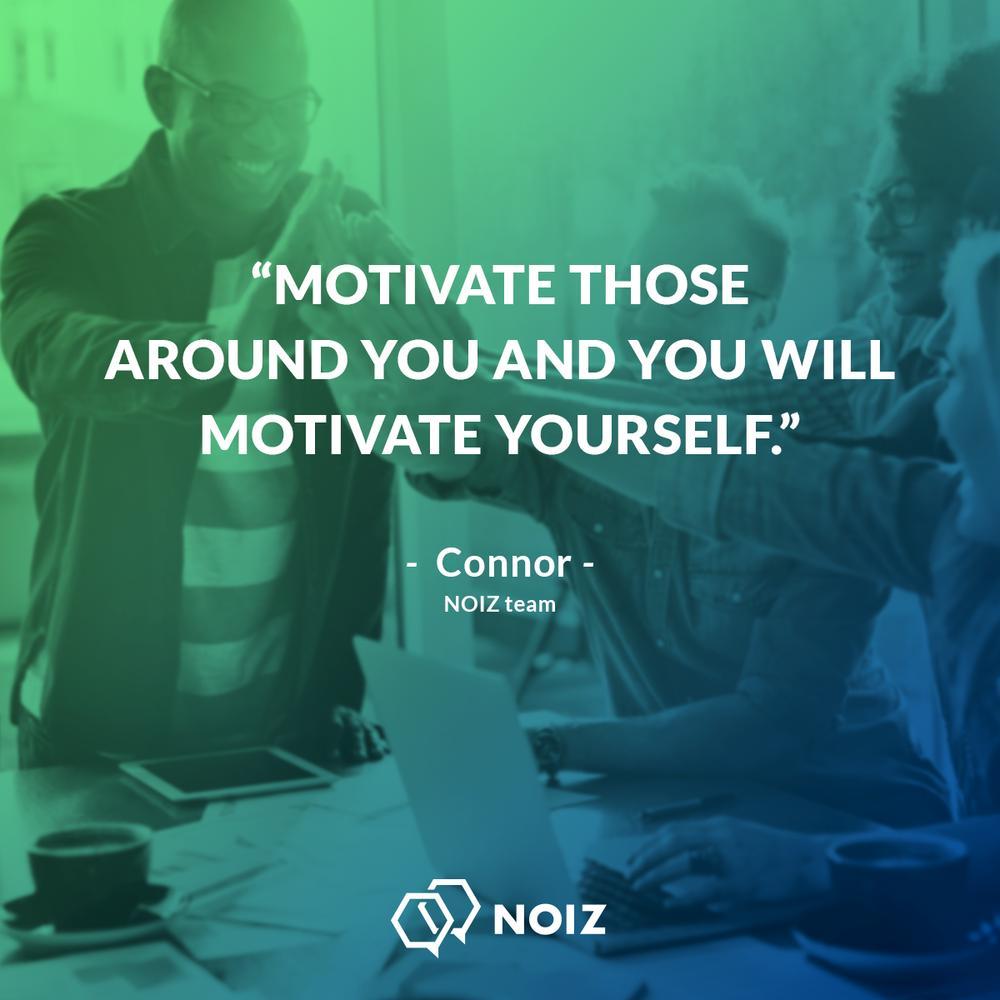 #MotivationalMonday Motivation can be a virtuous cycle. Go ahead and spread your positivity!  #NOIZ #Motivation #Cycle #Positivity #Monday<br>http://pic.twitter.com/lPmOjN7DbZ