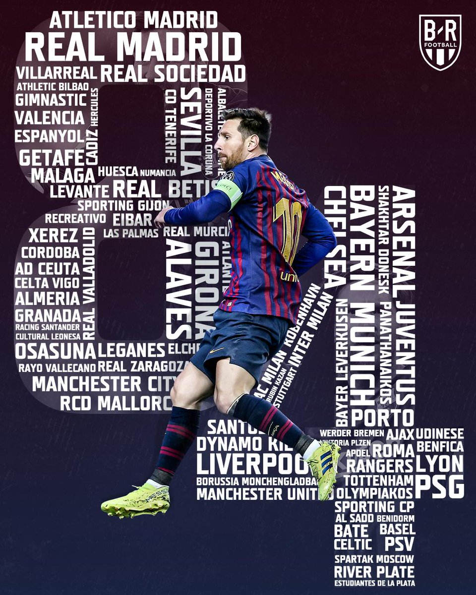B/R Football's photo on Lionel Messi