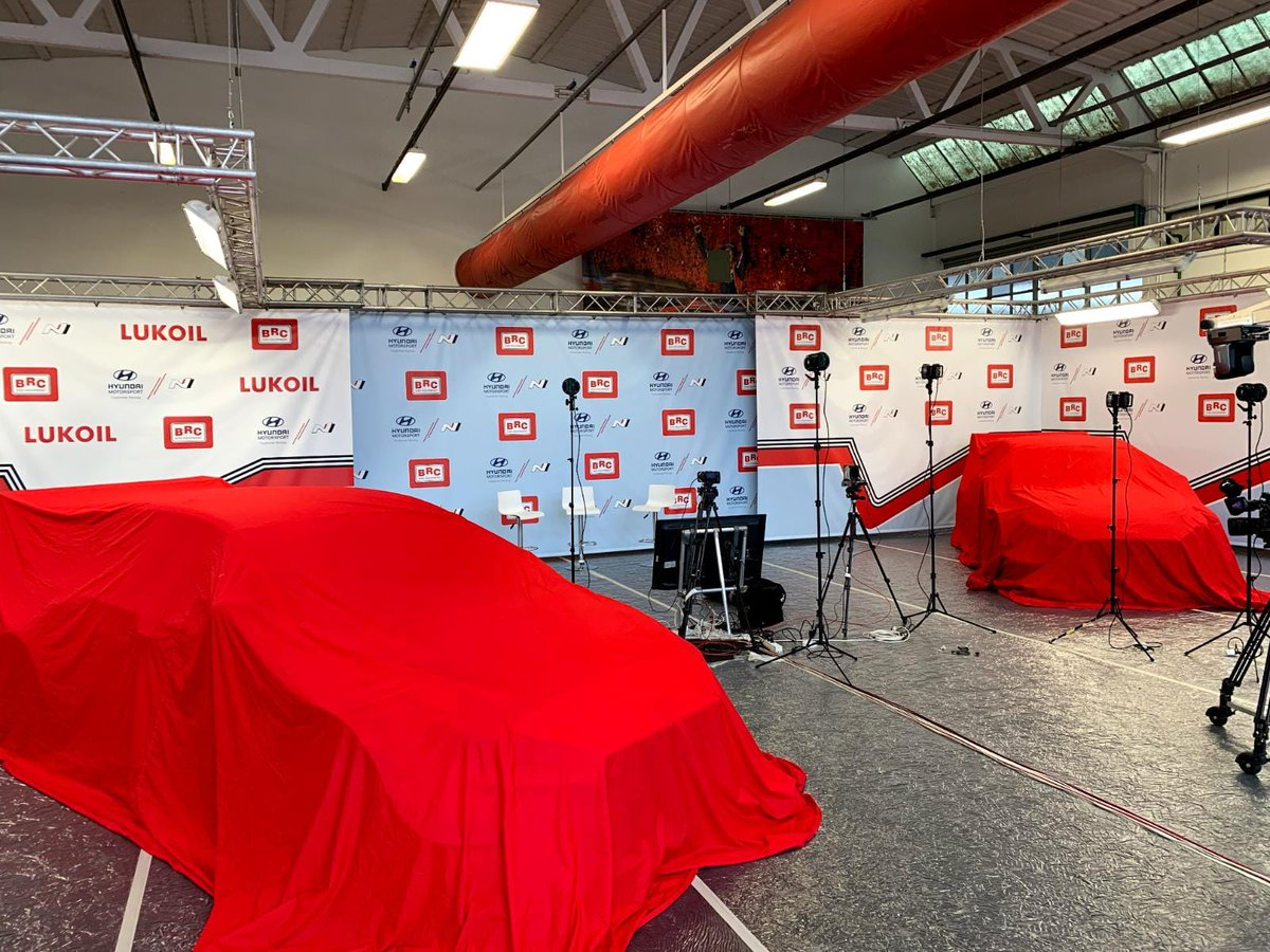 #WTCR What's under the covers? 🧐 The countdown to @FIA_WTCR 2019 continues!   Join the BRC Racing Team launch live on YouTube, hear from the four drivers 🗣 and see the i30 N TCR cars in their 2019 liveries 🚗 👉https://www.youtube.com/user/BRCGasEquipment/… #HMSGOfficial