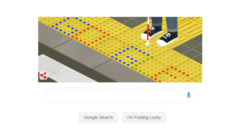 Monday obsession -&gt; today&#39;s @GoogleDoodles paying tribute to Seiichi Miyake who changed the world for the visually impaired 52 years ago today! <br>http://pic.twitter.com/MXiOganRxV