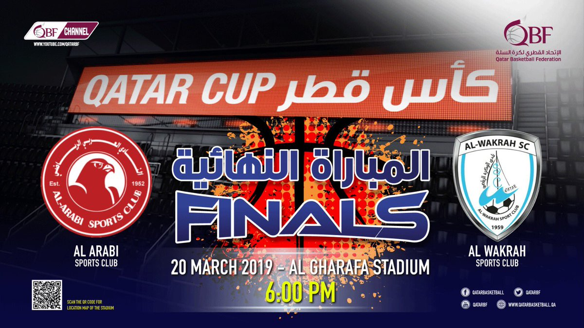مدربا الوكرة والعربي يشعلان نهائي كأس قطر لكرة السلة