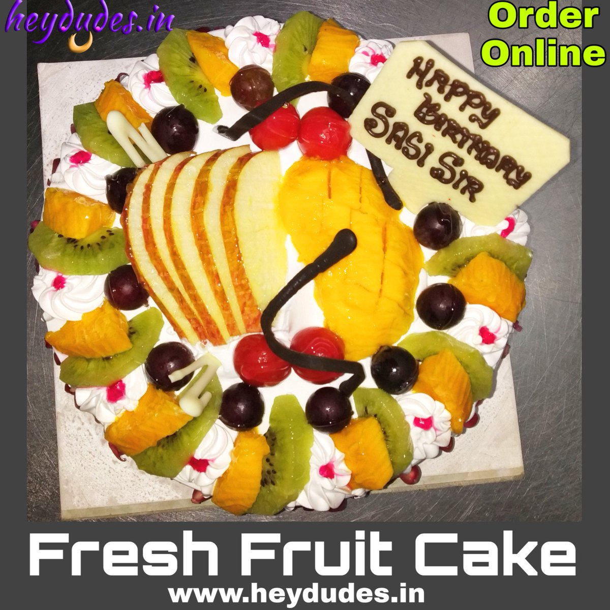 Order Your Cake Online And Get Delivered At Doorstep Heydudesin Cakeshop Cakedelivery Cakes Birthdaycake Chennai 24hourscake