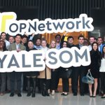 Image for the Tweet beginning: Yale School of Management visited