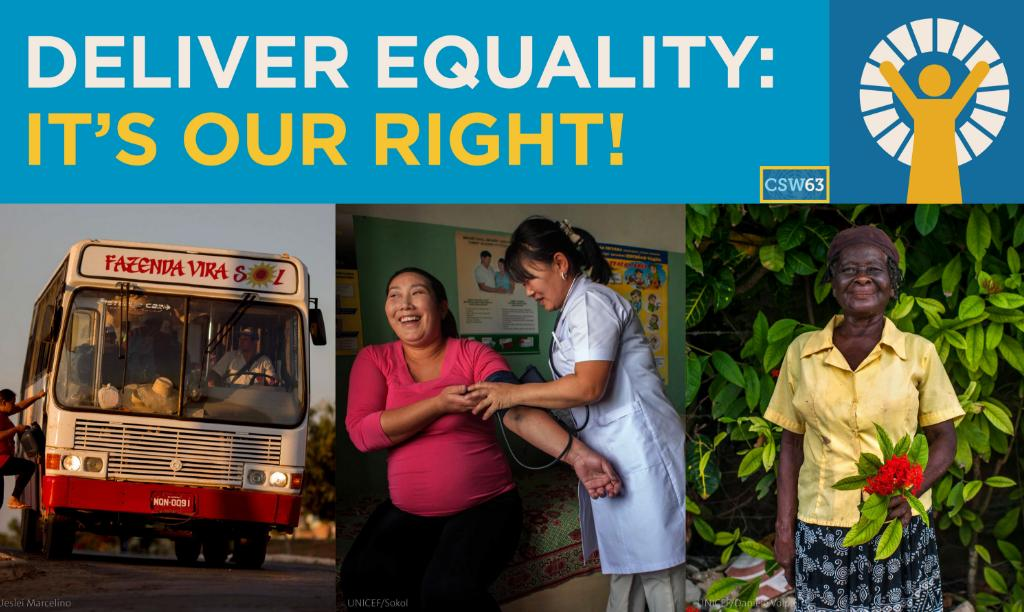 Women are rising up and demanding their rights more than ever. This #MondayMotivation, join @UN_Women in advocating for their present and future during this #CSW63