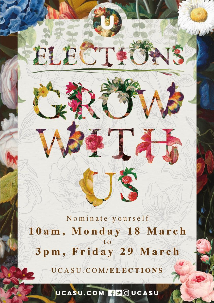 test Twitter Media - Election Nominations are now OPEN. Run for President Kent, President Surrey or Student Governor and #GrowWithUs  For all you need to know about elections, and to nominate yourself, visit https://t.co/QthZREpW0h  #ucasu #elections https://t.co/XLT9KODKdy