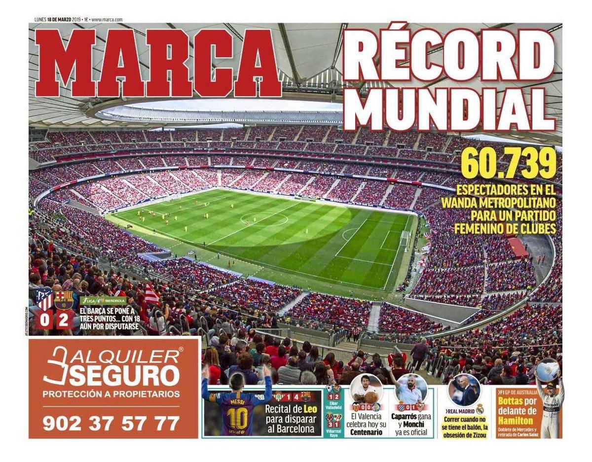 👋😄 ¡Hola!  🗞️ Así vienen las portadas de la prensa deportiva de hoy lunes  📺 #Golazo