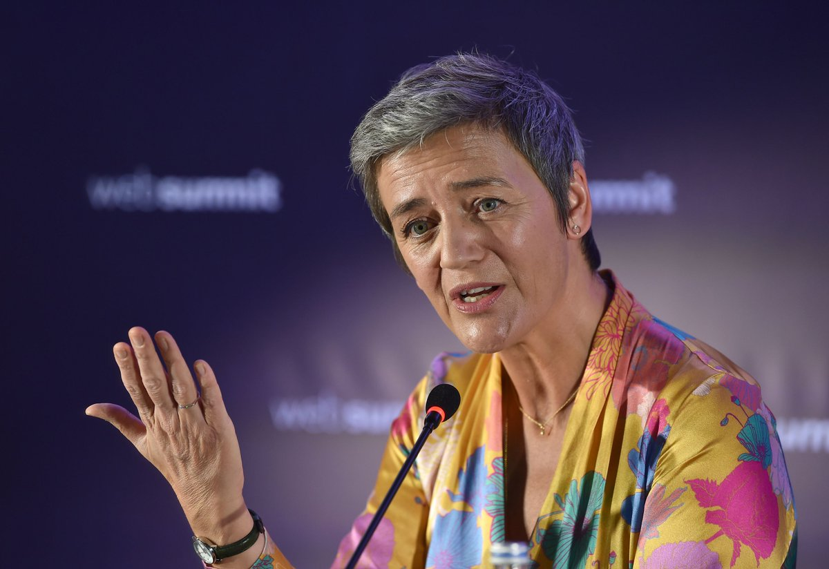 Full Q&A: European commissioner for competition Margethe @Vestager on Recode Decode
