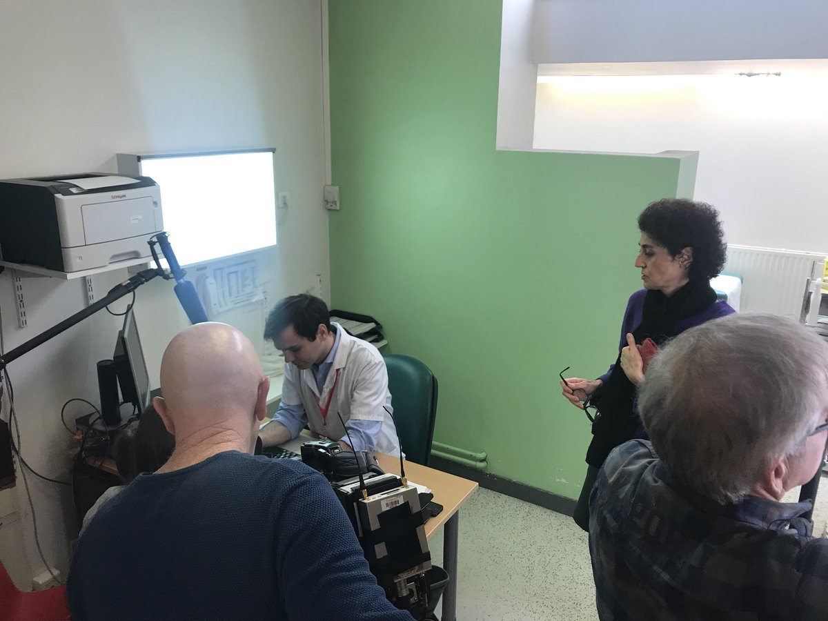 #Tournage ce matin à l'@hopital_necker pour notre client @UParisDescartes et l'#application #Efficasthme développée par son laboratoire @iLumens  Hâte de découvrir le résultat dans la rubrique santé de Brigitte-Fanny Cohen dans @telematin ! 🤩  #RetombéePresse #Fierté