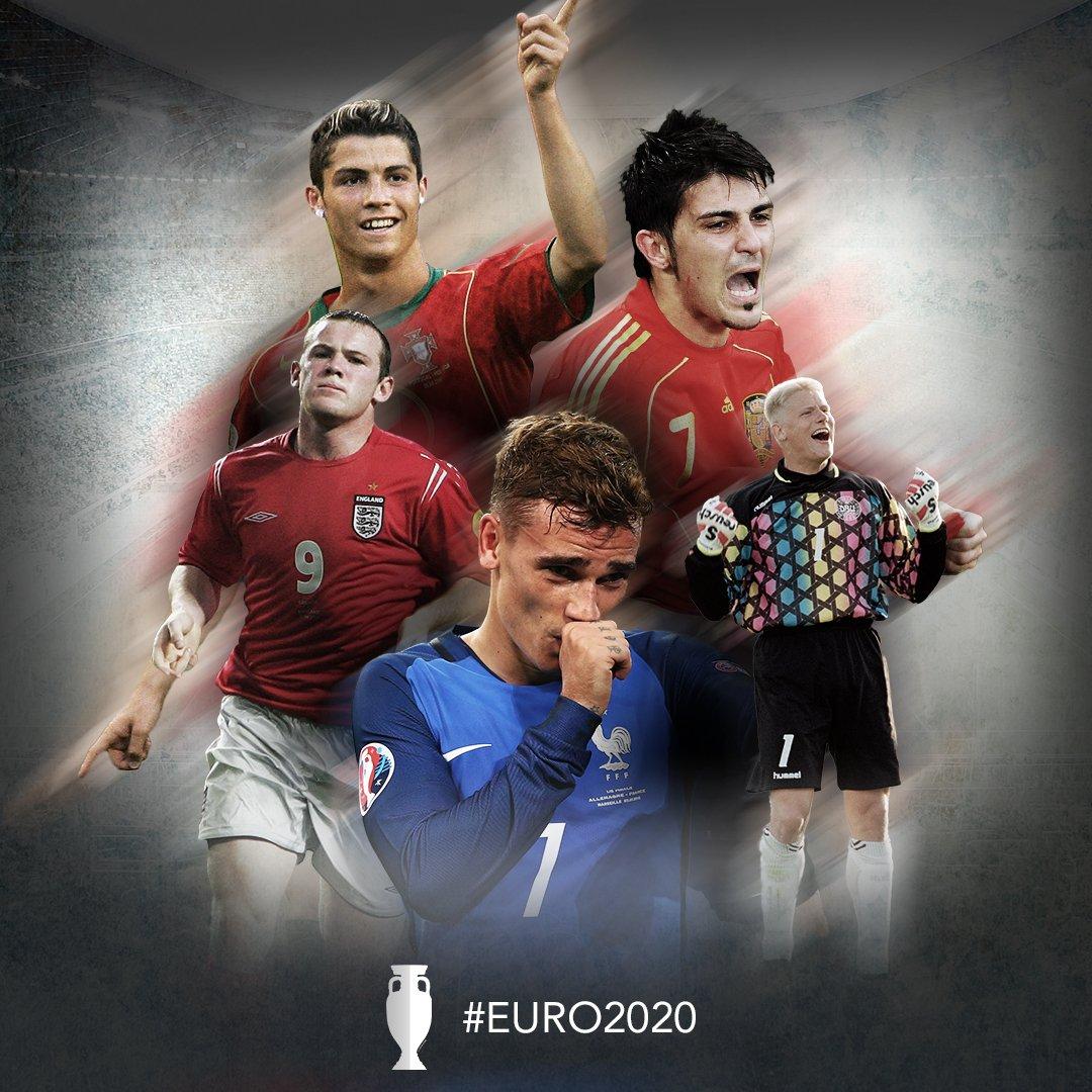 футболните звезди на евро 2020