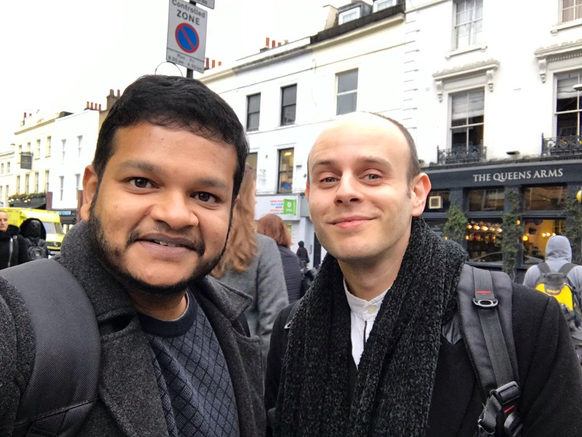 Had a wonderful time with my #musician friend @MaJiKer  in #London . Thank you for your useful tips and guides. Looking forward to collaborating with you soon.  #musicianlife <br>http://pic.twitter.com/hGwTAVozty