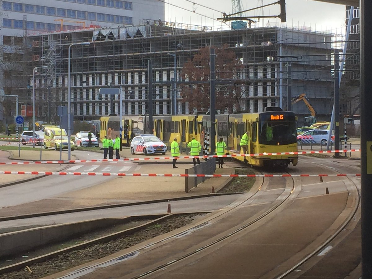 Terrorist attack 24 Oktoberplein in Utrecht, panic all over the country!