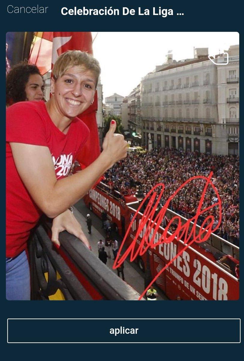 📣 ATENCIÓN: @Corredera7 acaba de abrir un fannel, ¡aplica para conseguir uno! Un recuerdo de la celebración de campeonas de liga del @AtletiFemenino ⚽  Descarga ya la app de Watafan ⬇️ https://play.google.com/store/apps/details?id=com.watafan.app…