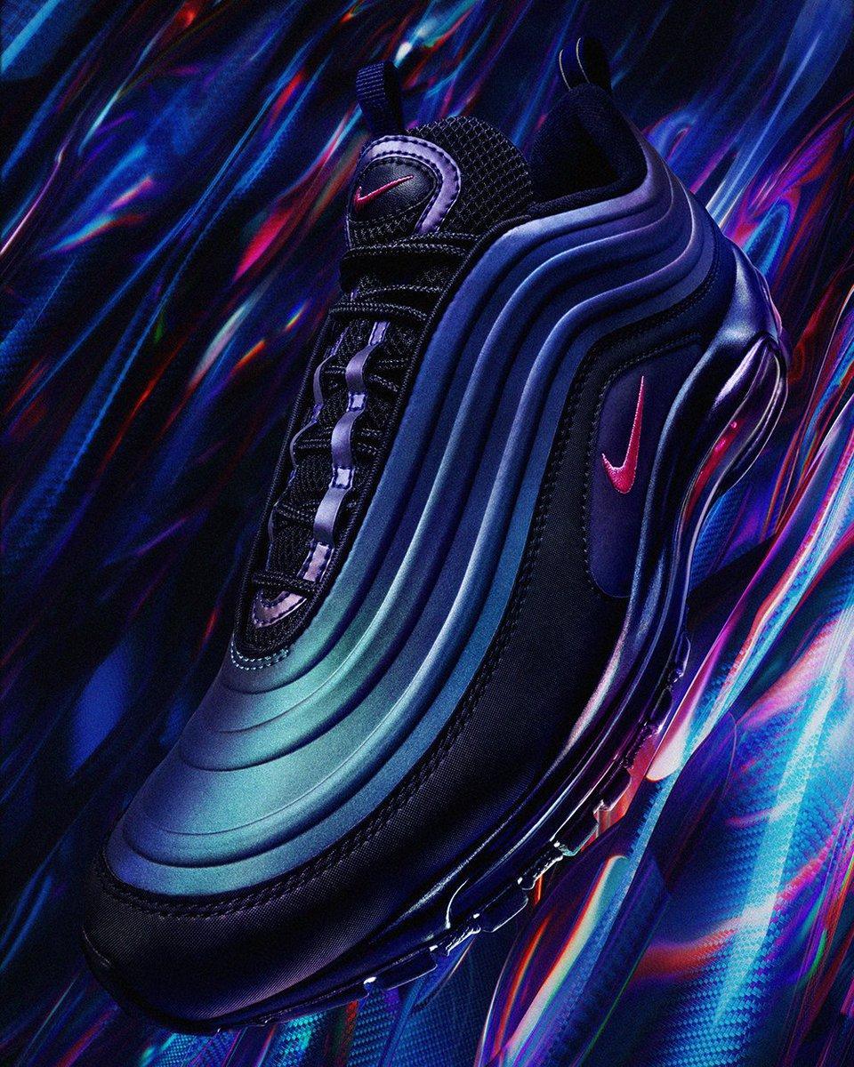 Nike Air Max 97 LX (Throwback Future Black Fuchsia Grey