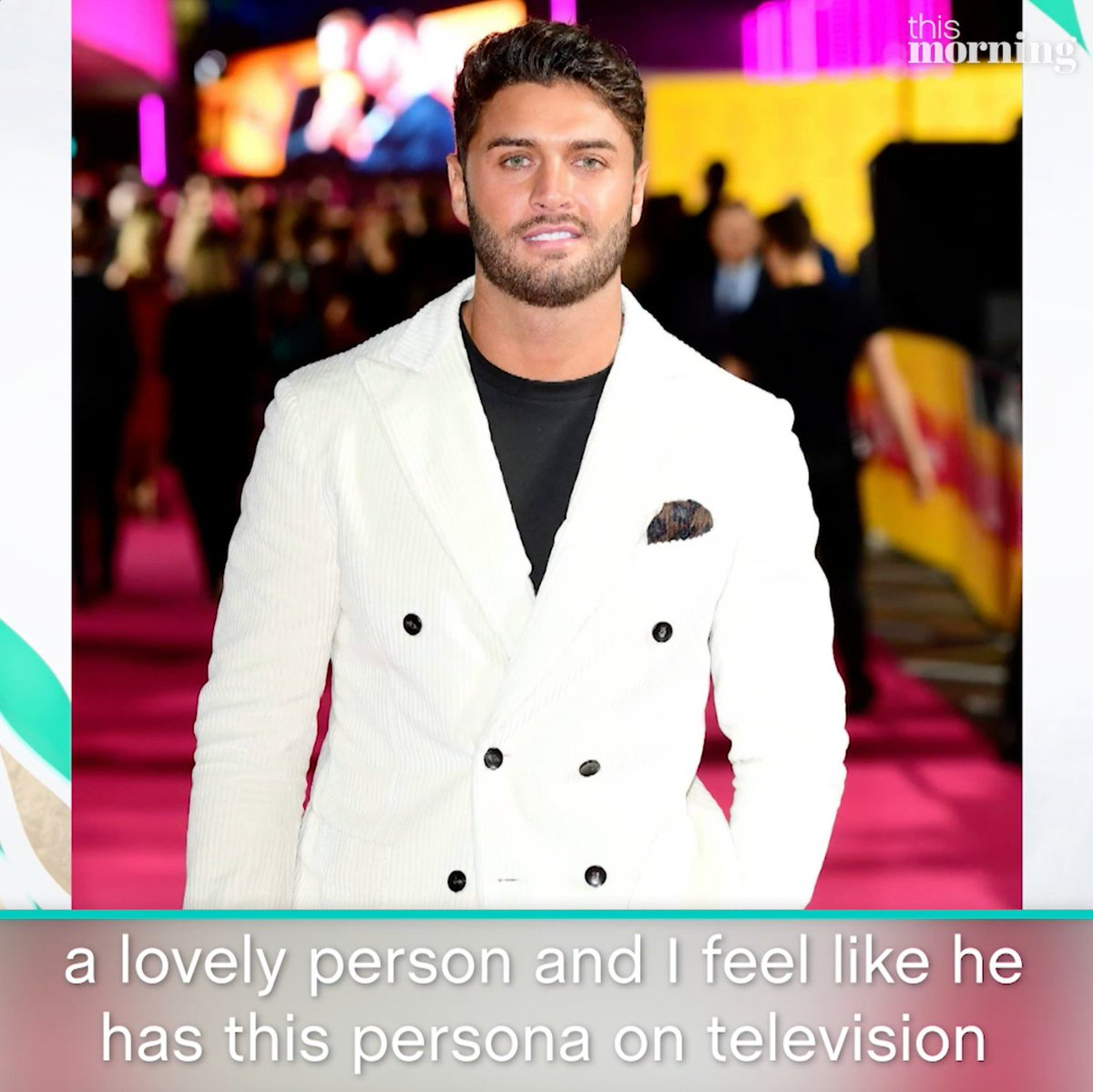 This Morning's photo on Mike Thalassitis
