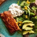 "Image for the Tweet beginning: RT @LeenProducer ""Tandoori Salmon Salad:"