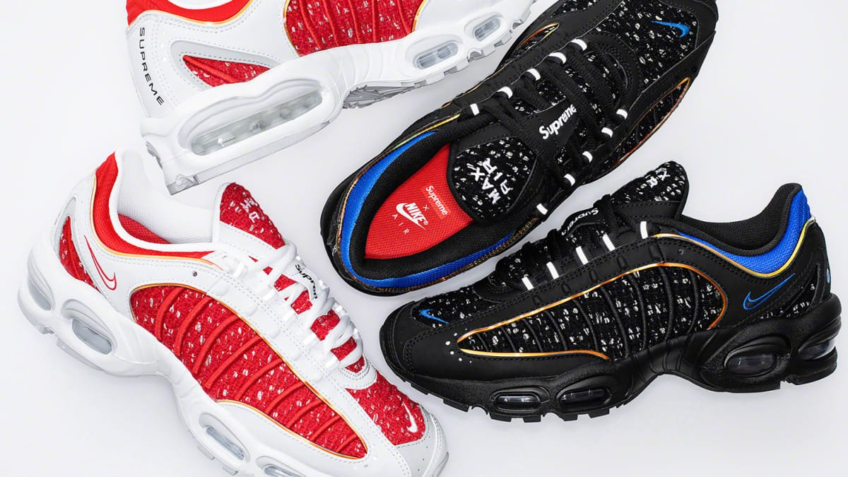 2908c9fa21d8 Supreme officially unveils its Nike Air Max Tailwind 4 collab ...