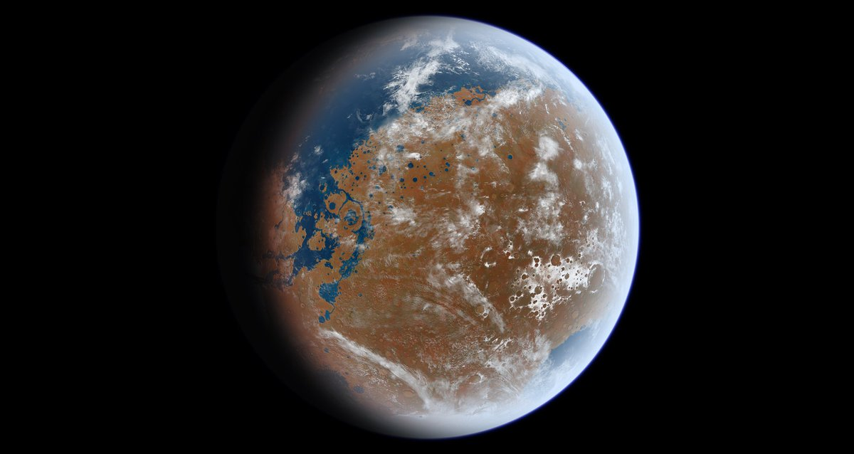 New paper shows that in 1997, NASA's Mars Pathfinder landed on the Red Planet right between the ancient remains of a huge inland lake and a VAST northern ocean.  https://www.syfy.com/syfywire/nasas-mars-pathfinder-may-have-landed-at-the-edge-of-an-ancient-inland-martian-sea…