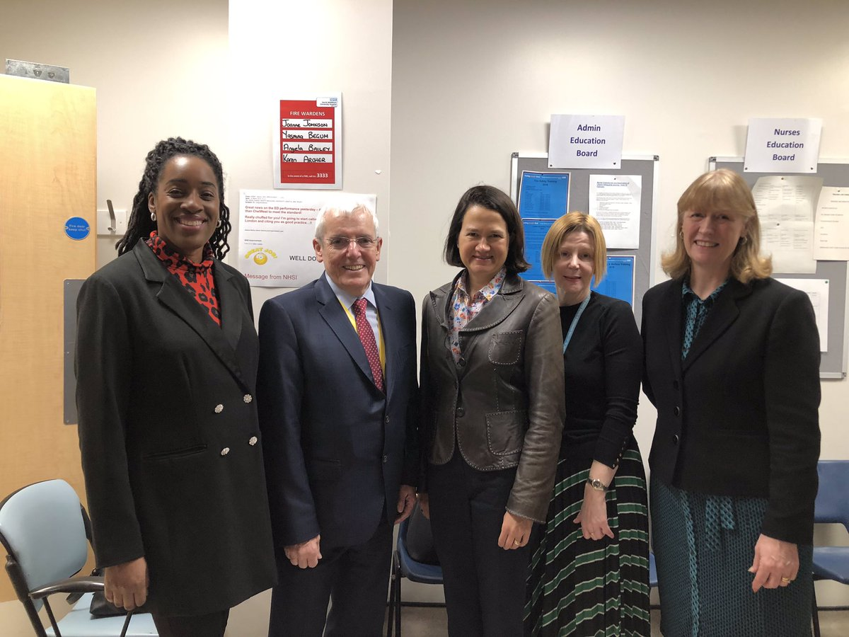 It was great to celebrate with the @NorthMidNHS team as they opened their newly refurbished A&E and mental health facility, Horizon.   I want to say thank you to the dedicated #NHS staff, at every level, who are doing so much for our hospital and the local communities it serves.