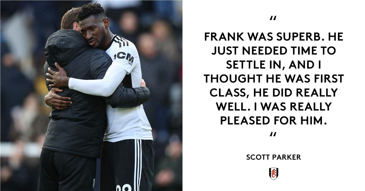 Scotty was full of praise for André-Frank yesterday 👏  How would you rate his performance out of 🔟?