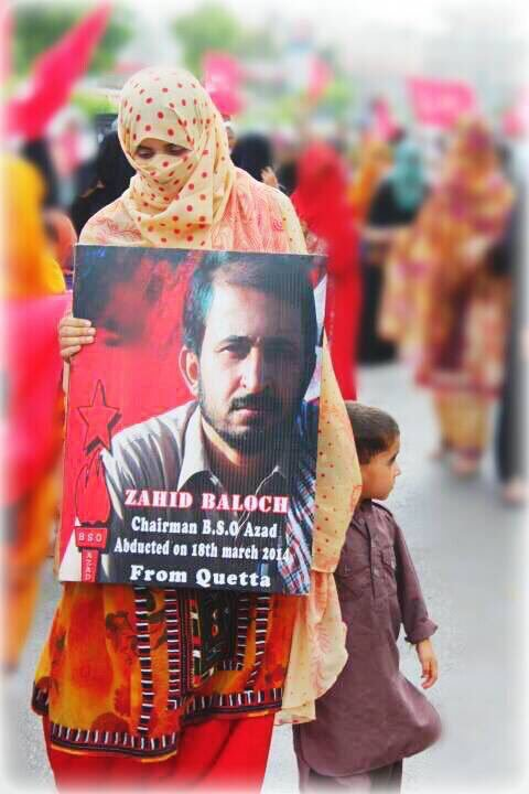 Today marks the fifth year of student leader Zahid Baloch's abduction. BSO-Azad former Chairman Zahid Baloch was forcibly disappeared by #Pakistani security forces on 18th March 2014 from #Quetta, #Balochistan. We humbly demand from @UN to play its role and #SaveZahidBaloch<br>http://pic.twitter.com/lhmTiGVlyU