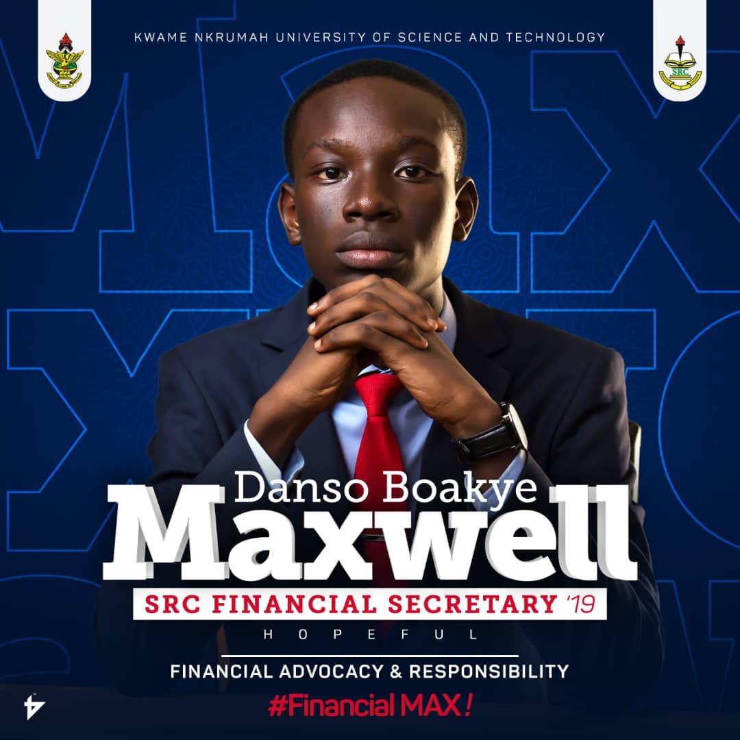 RT @the_law_himself: Hello KNUST Twitter! It's MAX Day!🎉🎊🔥 [@_maxwell_danso ]🎊🎉  #KNUSTDecides #KNUSTElection360 https://t.co/yyB7j2KXDR
