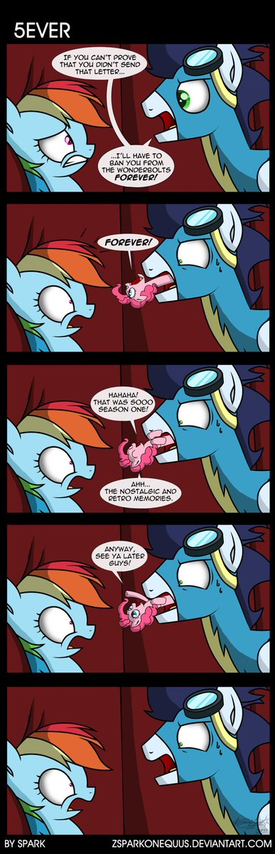 Wait, what the- *Pinkie pops from my mouth* Pinkie: GOOOD MORNING! Me: ;w; ( Comic by Spark ) #brony #mlpfim #mlp #comics<br>http://pic.twitter.com/hXRSyMAr6Z