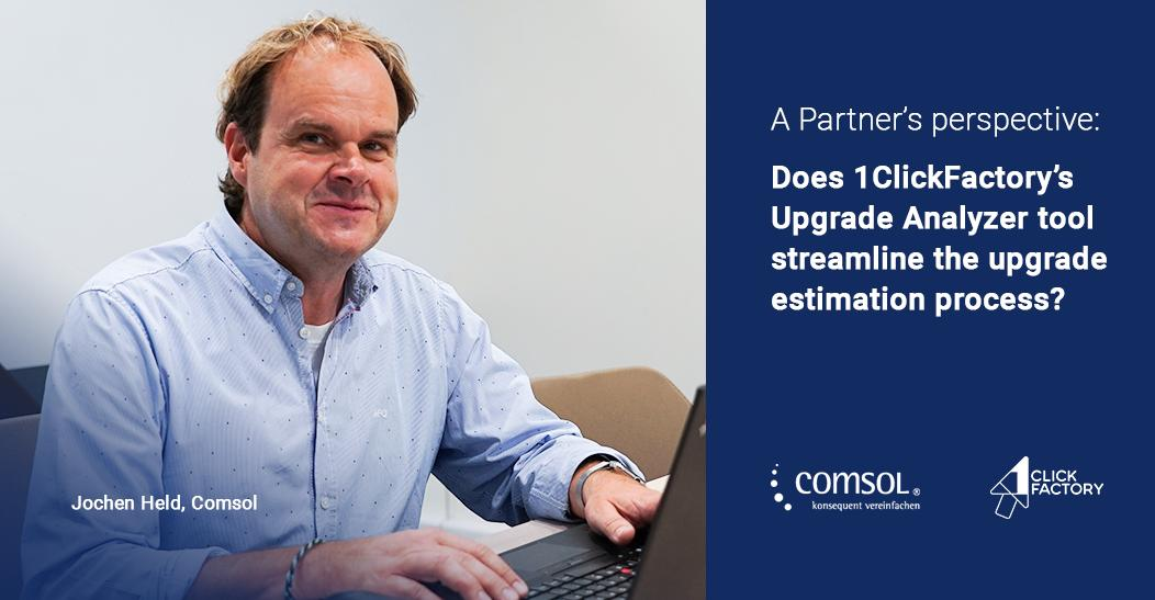 See how 1ClickFactory's Upgrade Analyzer takes the pain out of #upgrade estimations for #MSPartners like @Comsol_ag >> https://bit.ly/2NJkNGE   #MSDyn365