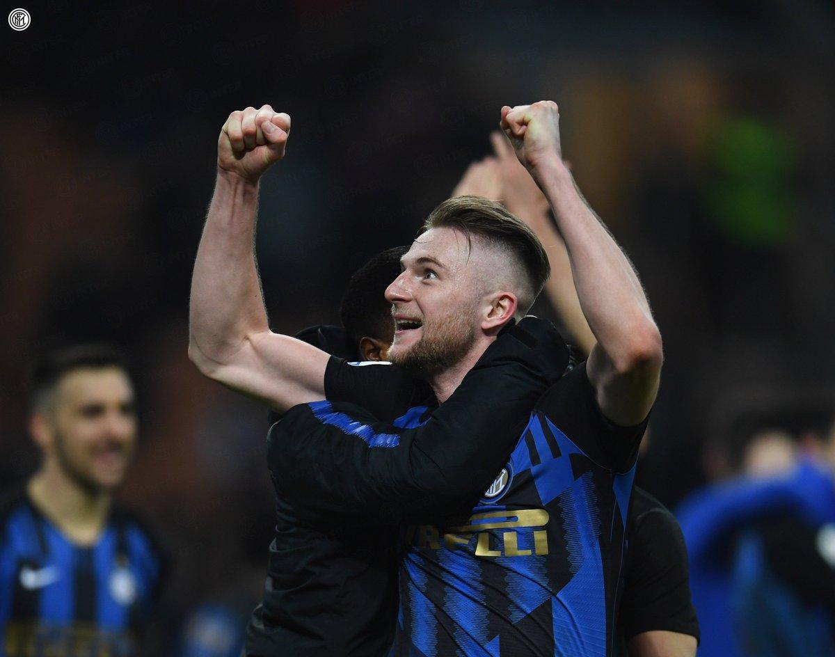 "🤩 | LUNEDÌ  ""Inter, Inter, Skriniar"" (cit.)  #DerbyMilano"