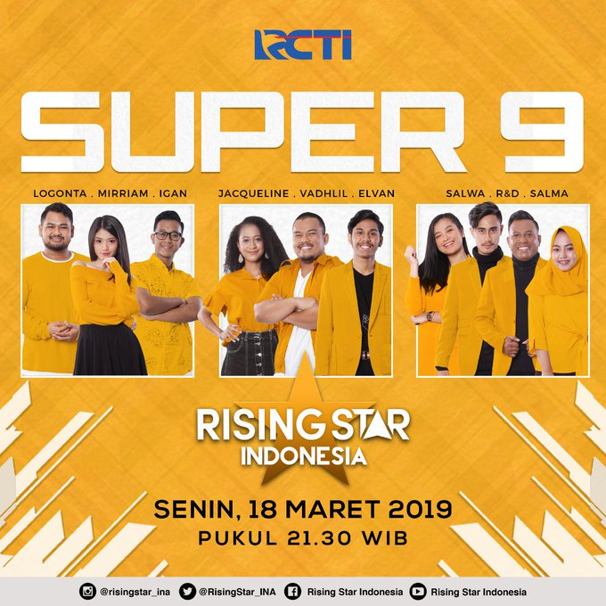 #RisingStarIndonesia Photo