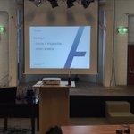 Image for the Tweet beginning: Vandaag 2de lesdag van onze