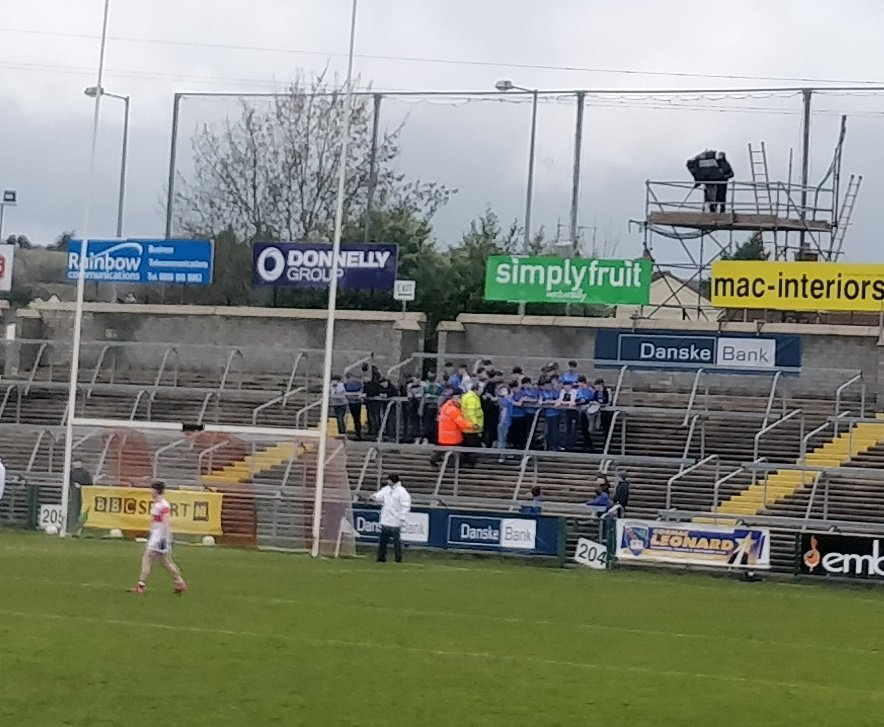 @McGurkEamonn @omaghcbs They are already causing havoc in the stands!