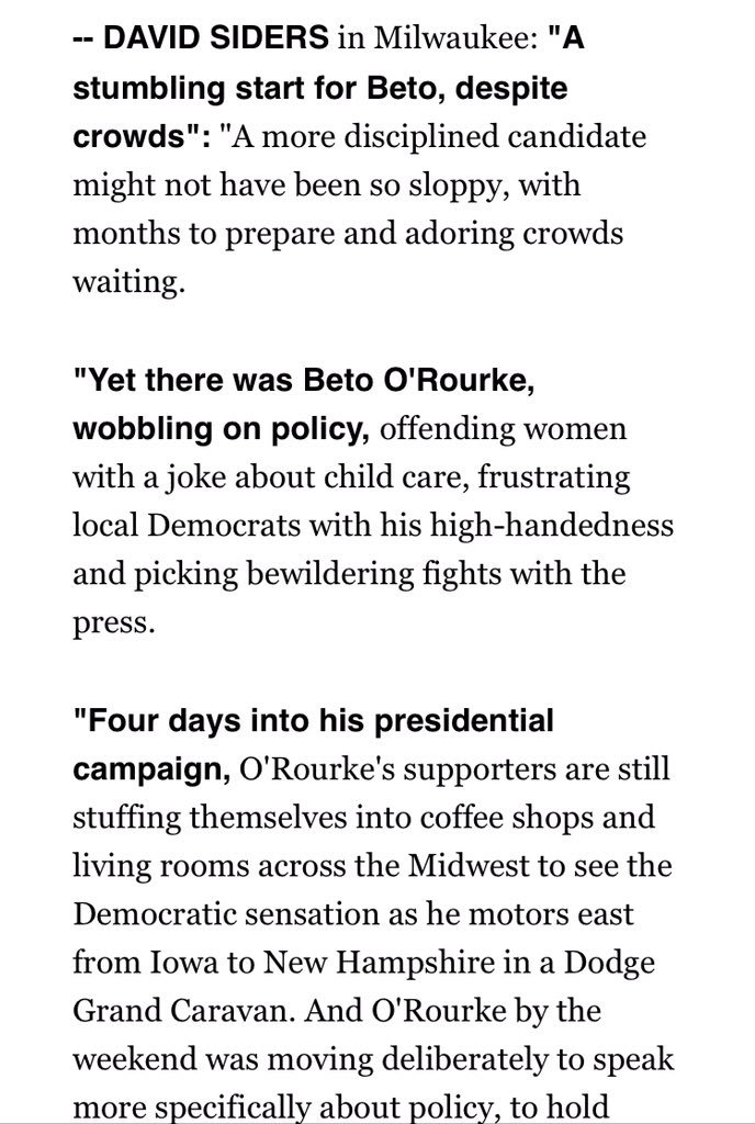 Beto's launch: the narrative vs the numbers