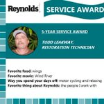 Image for the Tweet beginning: Today we recognize restoration technician