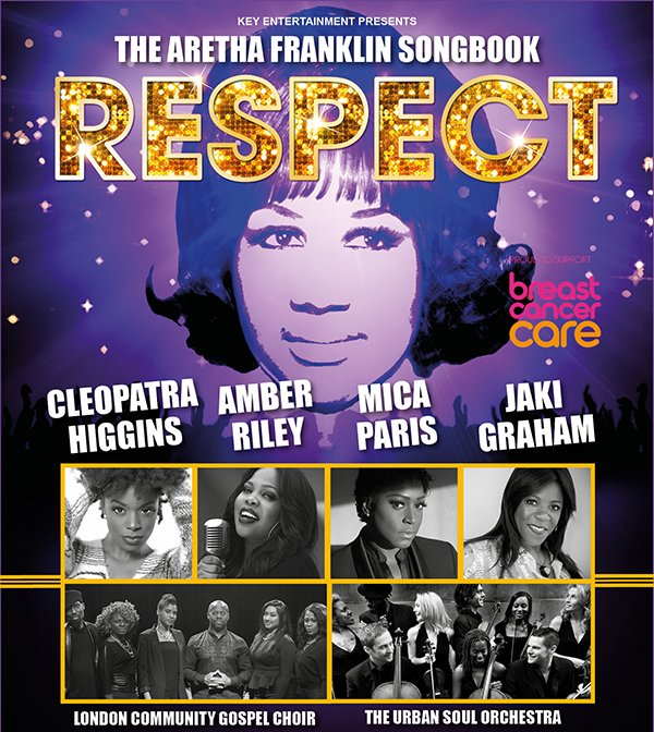 B&amp;S Event Update&gt;&gt;&gt; This amazing live concert pays tribute to the #queenofsoul #ArethaFranklin  and comes to #London 25 Mar.  Get your  50% off including outstanding vocals from #RnB royalty &amp; #soulmusic legends, all accompanied by @UrbanSoulOrch  #arethatribute #Glee<br>http://pic.twitter.com/oT4dgnAewr