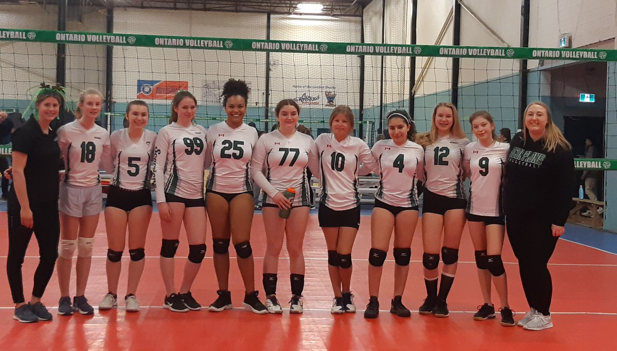 Great job in London yesterday - Scorpions Leprechauns and Scorpions 14u White teams @Volleyballhub #volleyball @Bill_Doucet @ontvbpage