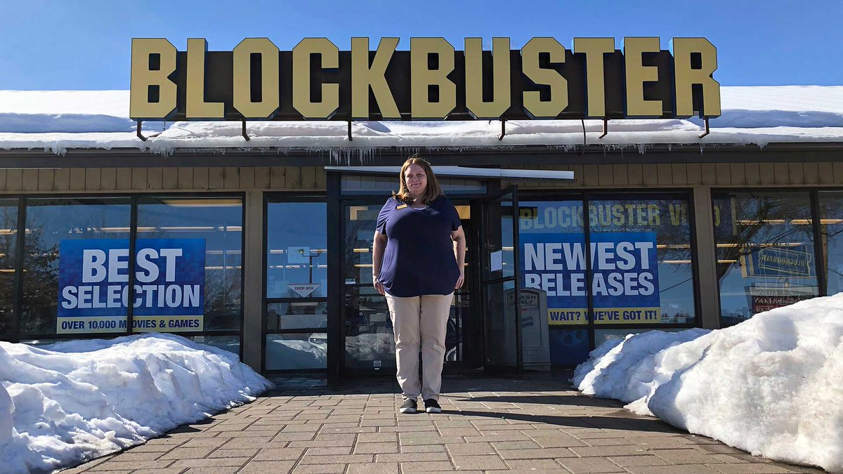 Be Kind, Please Rewind: Oregon Blockbuster is last on Earth http://cp24.to/mBLK03K