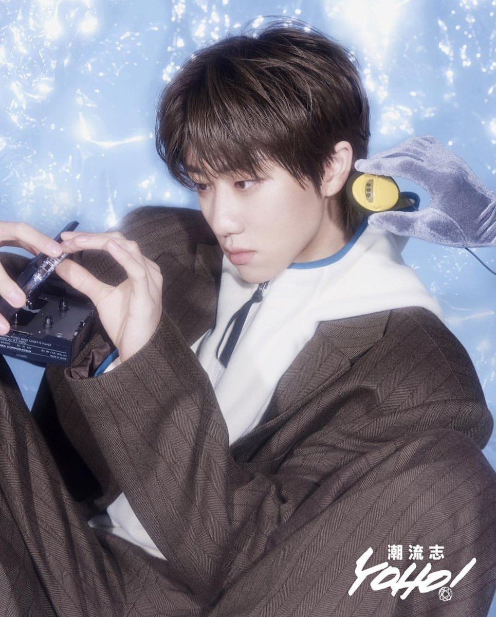 Yoho picturial of our #FashionKing #THE8 (Xu Minghao)  Showing #EndlessPossibilities 😍😍😍  @pledis_17