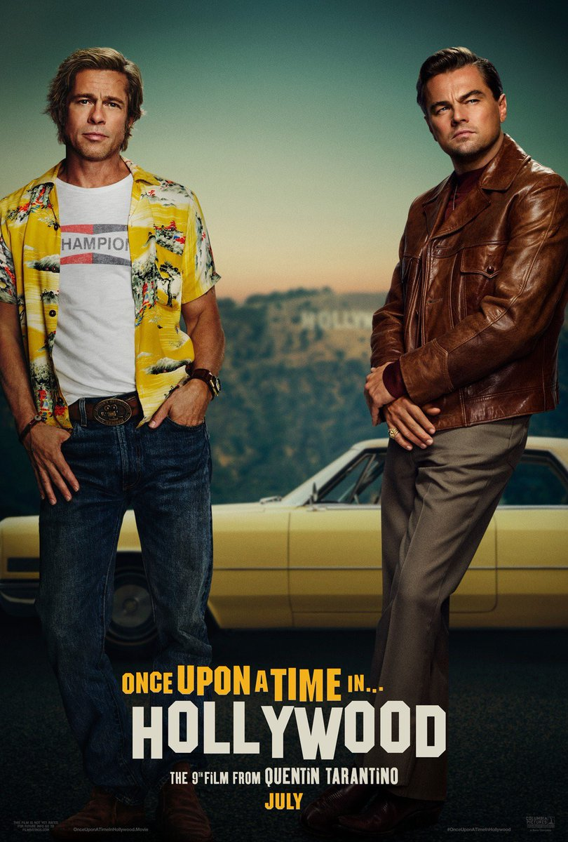 First poster for Quentin Tarantino's 'Once Upon A Time In Hollywood'