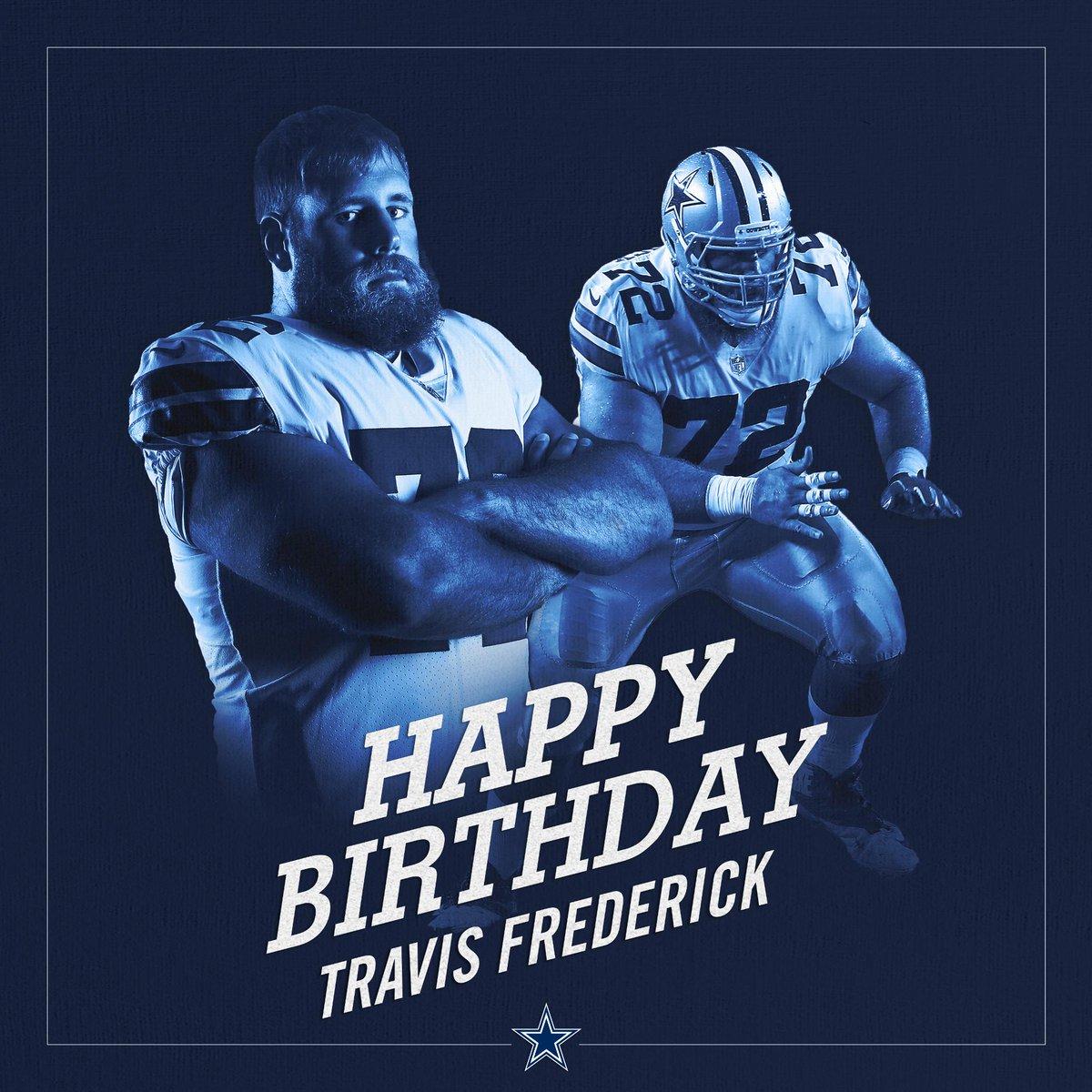 #CowboysNation, join us in wishing @tfrederick72 a happy birthday!<br>http://pic.twitter.com/TBkTG7vBuz