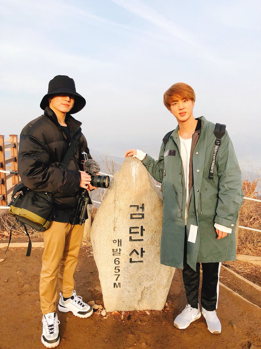 Чонгук и Джин покорили ещё одну вершину. #BTS #JUNGKOOK #JIN #Джин #Чонгук