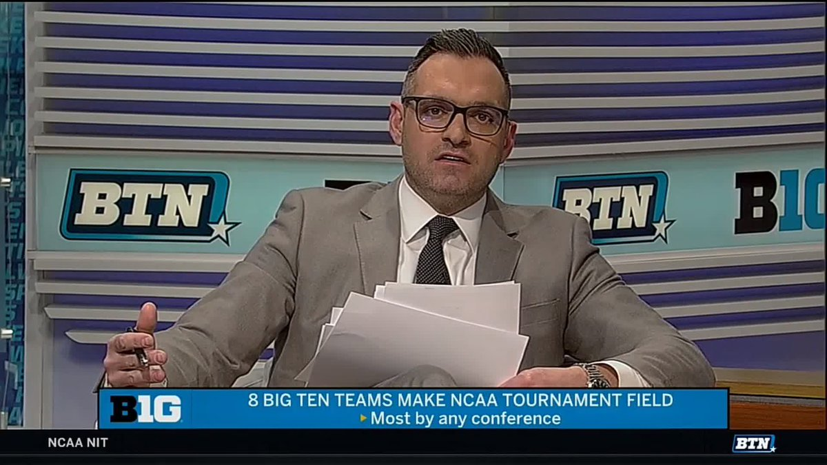 """I think I'm bleeding a little bit from scratching my head for so long.""  - @BTNJonCrispin, on @B1GMBBall co-champ and #B1GTourney champ @MSU_Basketball being a No. 2 seed in top overall seed Duke's region  #MarchMadness x #MarchOnBTN"