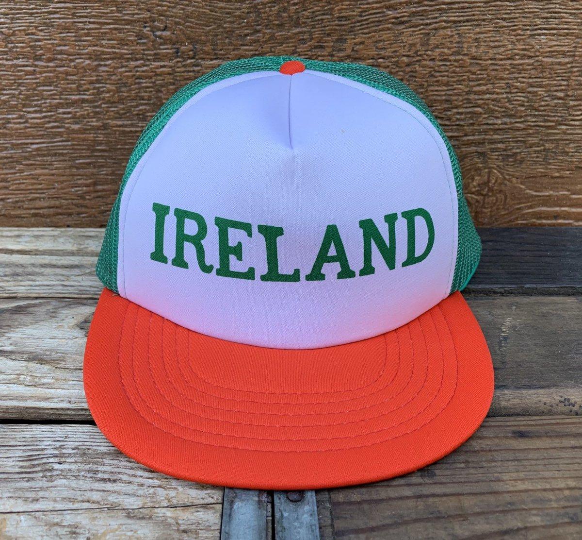 5b5dd4279b5 Ireland vintage irish pride wide brim snapback trucker hat jpg 1200x1112 Vintage  snapback etsy trucker mesh