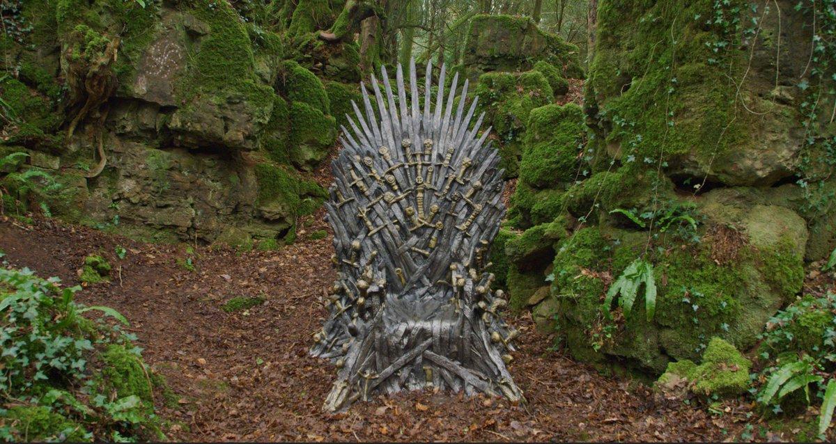 Game of Thrones fans can find Iron Thrones hidden around the world