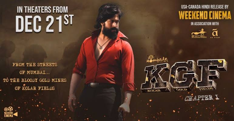 Yes Here It Is!! The Update U Have Been Waiting For.! The Much Awaited Movie #KGF Re-Releasing On This Thursday.Rocky Bhai Is Back Once Again To See U. Booking Opens Tomo @2PM.Movie will Continue This Weekend Till Sunday. Enjoy Once Again With #RGB Laser Projection.. #KGFAtVidya