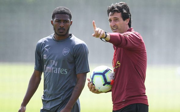 """Ainsley Maitland-Niles on playing right-back: """"I'm still adapting to [the position] but the manager &amp; coaching staff are helping me a lot at the moment. My best qualities are going forward, creating. I've spoken to the manager &amp; he seems to think the same as me."""" [@Football_LDN]<br>http://pic.twitter.com/CBThB9MjDL"""