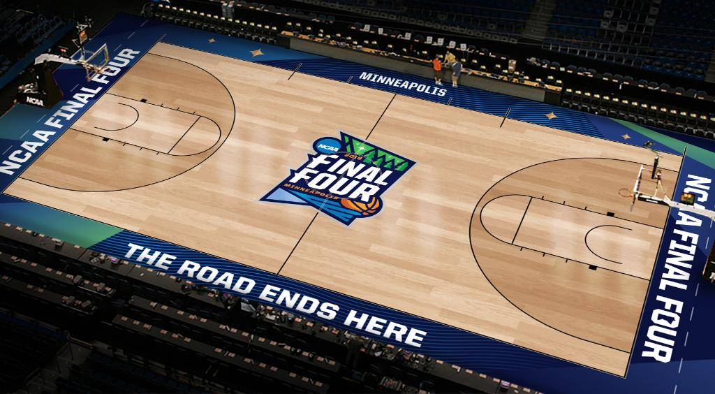 Here's your FIRST LOOK at the #FinalFour court!
