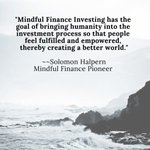 Image for the Tweet beginning: Mindful... Finance... Abundance... What is Mindful