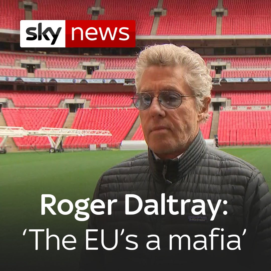 Roger Daltrey has signed a letter demanding action from UK govt to ensure visa-free touring in the EU.  Life comes at you fast...