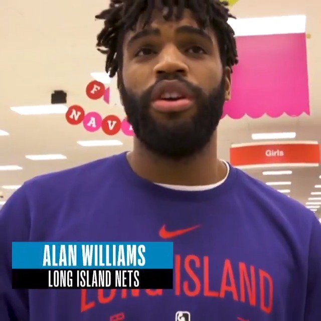 Long Island Nets Alan Williams speaks on the importance of giving back to his community and uplifting youth #IThriveSeries #NBAFIT @KPShare